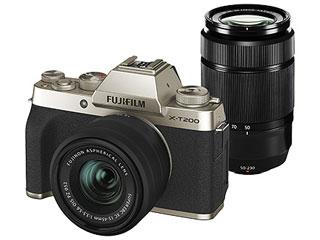 FUJIFILM/フジフイルム F X-T200WZLK-G(シャンパンゴールド) FUJIFILM X-T200ダブルズームレンズキット