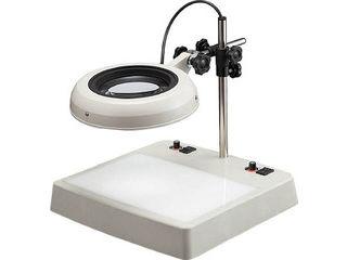 【組立・輸送等の都合で納期に1週間以上かかります】 OTSUKA/オーツカ光学 【代引不可】LEDライトボックス式照明拡大鏡 ENVL-CL型 4倍 ENVL-CLX4