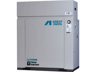 【組立・輸送等の都合で納期に1週間以上かかります】 ANEST IWATA/アネスト岩田コンプレッサ 【代引不可】レシプロコンプレッサ(パッケージ・オイルフリータイプ) ドライヤー CFP55CF-8.5DM6