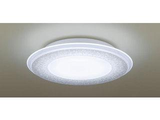 Panasonic/パナソニック LGBZ2195 LEDシーリングライト 1枚パネルタイプ 透明・模様入【調光調色】【~10畳】【天井直付型】