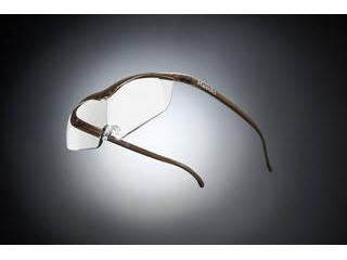 Hazuki Company/ハズキ 【Hazuki/ハズキルーペ】メガネ型拡大鏡 ラージ クリアレンズ 1.32倍 ブラウン 【ムラウチドットコムはハズキルーペ正規販売店です】