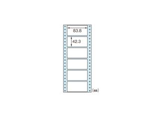 ヒサゴ ドットプリンタ用ラベル タック6 SB354