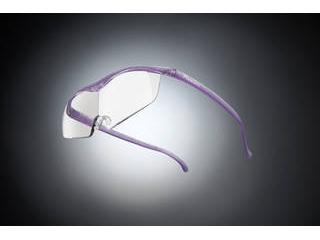 Hazuki Company/ハズキ 【Hazuki/ハズキルーペ】メガネ型拡大鏡 ラージ クリアレンズ 1.32倍 ニューパープル 【ムラウチドットコムはハズキルーペ正規販売店です】