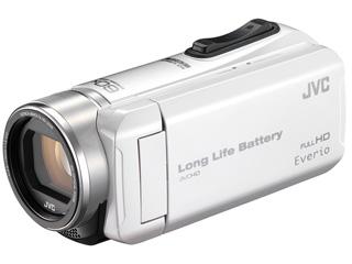 JVC/Victor/ビクター GZ-F200-W(パールホワイト) Everio/エブリオ ハイビジョンメモリームービー 【ビデオカメラ】