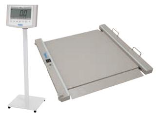 バリアフリー体重計 SMOOZER DP-7500PW