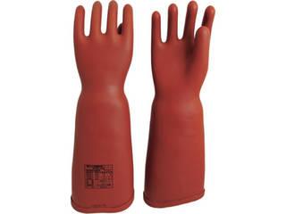 WATABE/渡部工業 高圧ゴム手袋460mm胴太型LLサイズ 555-LL
