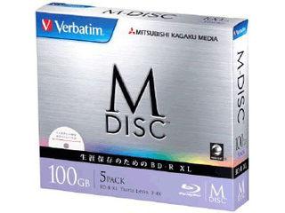 三菱化学メディア M-DISC 長期保存用片面3層BD 5枚パック DBR100YMDP5V1