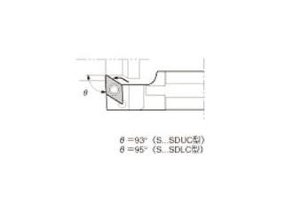 KYOCERA/京セラ スモールツール用ホルダ S25K-SDUCL11