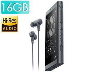 SONY/ソニー NW-A55HN-B(グレイッシュブラック) 16GB ウォークマンAシリーズ(メモリータイプ) ヘッドホン同梱