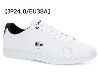 LACOSTE/ラコステ CARNABY EVO 119 7 W (ホワイト×ネイビー×レッド) SFA0016 サイズ38A(24.0)
