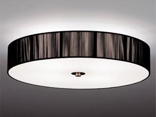 ENDO/遠藤照明 ERG5260B LEDシーリングライト 糸(黒)【電球色】ランプ付