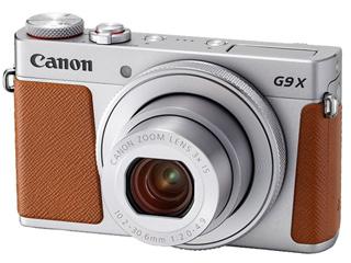 【梱包B級品特価】 CANON/キヤノン PowerShot G9X Mark II (シルバー) PSG9XSL 1718C004