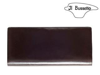 Il Bussetto/イルブセット Long Wallet/長財布 【ダークブラウン】 長財布 ウォレット 革小物 本革 タリアレザー ギフト プレゼント