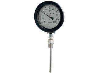 KAKUDAI/カクダイ 649-913-50B バイメタル製温度計(防水・ストレート型)