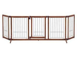 株式会社リッチェル ★★★ペット用木製おくだけドア付ゲート L