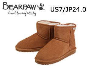 Bear paw/ベアパウ 619LW ムートンブーツ Demi (Hickory) 【US7/JP24.0】【日本正規品】