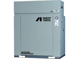 【組立・輸送等の都合で納期に1週間以上かかります】 ANEST IWATA/アネスト岩田コンプレッサ 【代引不可】パッケージコンプレッサ D付 7.5KW 60Hz CLP75EF-8.5DM6