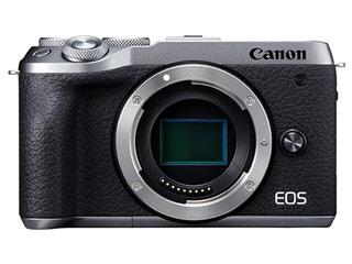 CANON/キヤノン EOS M6 Mark II ・ボディー(シルバー) ミラーレスカメラ 3612C004