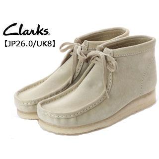 Clarks/クラークス 26133283 Wallabee Boot ワラビーブーツ メンズ 【JP26.0/UK8】 (メープルスエード)