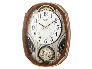 Small World/スモールワールド 4MN513RH23 【スモールワールドノエルM】 電波からくり時計 回転飾り付/メロディ 【RPS160324】