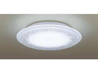 Panasonic/パナソニック LGBZ2197 LEDシーリングライト 1枚パネルタイプ 透明・模様入【調光調色】【~10畳】【天井直付型】