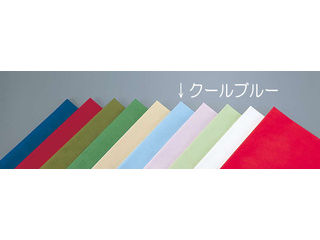 【代引不可】テーブルクロス オリビア 100角/クールブルー(50枚入)