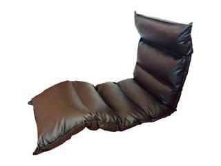高反発フリーリクライニング座椅子 ブラウン  KPGCR-LE295BR