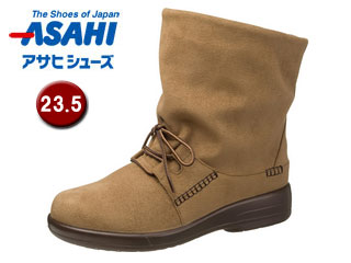 ASAHI/アサヒシューズ AF38838 TDY38-83 トップドライ 女性用ブーツ 【23.5cm・3E】(オーク)