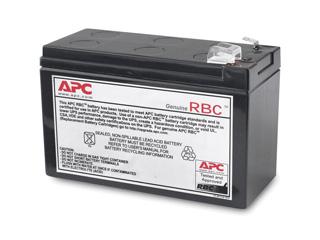 シュナイダーエレクトリック(APC) BR400G-JP/BR400G-JP E/BR550G-JP/BR550G-JP E/BE550G-JP/BE550G-JP E向け交換用バッテリキット APCRBC122J