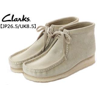 Clarks/クラークス 26133283 Wallabee Boot ワラビーブーツ メンズ 【JP26.5/UK8.5】 (メープルスエード)