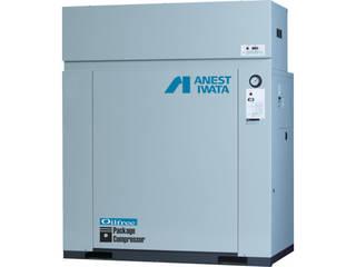 【組立・輸送等の都合で納期に1週間以上かかります】 ANEST IWATA/アネスト岩田コンプレッサ 【代引不可】レシプロコンプレッサ(パッケージ・オイルフリータイプ) 50Hz CFP75CF-8.5M5