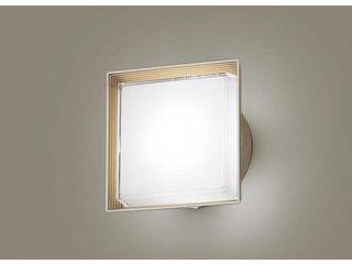 Panasonic/パナソニック LGWC80320LE1 LEDポーチライト プラチナメタリック【昼白色】【明るさセンサ付】【壁直付型】