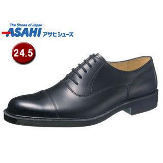 【nightsale】 ASAHI/アサヒシューズ AM33201 通勤快足 TK33-20 ビジネスシューズ 【24.5cm・3E】 (ブラック )