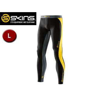 SKINS/スキンズ DK9905001-BKCR DNAMIC メンズ ロングタイツ 【L】 (ブラック×シトロン)