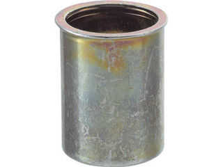 TRUSCO/トラスコ中山 クリンプナット薄頭スチール 板厚4.0 M6X1 (1000個入) TBNF-6M40S-C