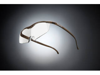 Hazuki Company/ハズキ 【Hazuki/ハズキルーペ】メガネ型拡大鏡 ラージ クリアレンズ 1.85倍 ブラウン 【ムラウチドットコムはハズキルーペ正規販売店です】