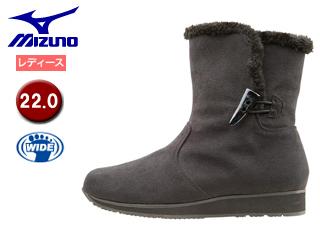 mizuno/ミズノ B1GH1571-09 SELECT550 ブレスサーモショートブーツ 【22.0】 (ブラック)