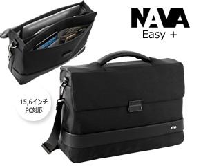 NAVA/ナヴァ 2WAYバッグ 【ブラック】 Easy + One 2 compatments バッグ ビジネス 鞄 イタリア