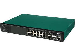 パナソニックESネットワークス 給電機能付 14ポート+SFP2スロット スイッチングハブ PN28128SB3 SK-EML12TPoE+ 3年先出しセンドバック保守 納期にお時間がかかる場合があります