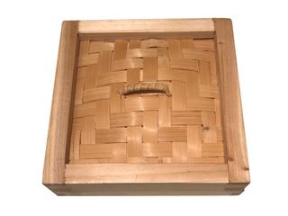 超歓迎された KANDA カンダ 436398 蓋 本格派杉製角型セイロ 期間限定特価品 15cm