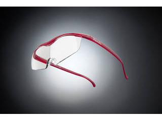 Hazuki Company/ハズキ 【Hazuki/ハズキルーペ】メガネ型拡大鏡 ラージ クリアレンズ 1.6倍 ルビー 【ムラウチドットコムはハズキルーペ正規販売店です】
