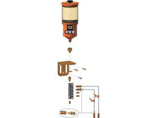 zahren/ザーレンコーポレーション OL500オイル用 遠隔設置キット(2箇所) 1250RO-2