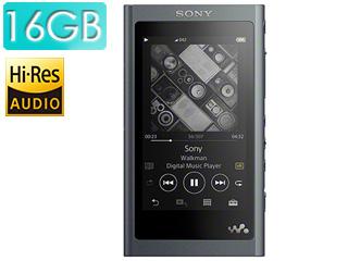 SONY/ソニー NW-A55-B (グレイッシュブラック) 16GB ウォークマンAシリーズ(メモリータイプ) ヘッドホン付属なし