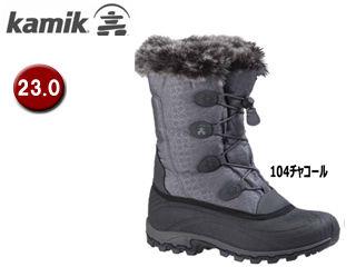 kamik/カミック 1600398-104 モーメンタムW's 【6/23.0cm】 (104チャコール) 【ウィンター・スノーブーツ】【雪】【防寒】