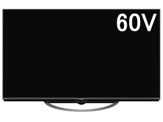 【標準配送設置無料!】 SHARP/シャープ 【まごころ配送】4T-C60AJ1 AQUOS/アクオス 60V型4K液晶テレビ 【お届けまでの目安:22日間】