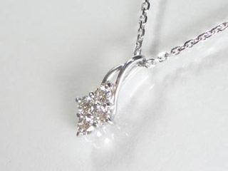 SIN ハート&キューピットダイヤペンダント 【18金ホワイトゴールド】【天然ダイヤ使用】【JS4147K18WG】 【納期に3~4週間かかるため、単品での購入でお願い致します。】【SINDYP】