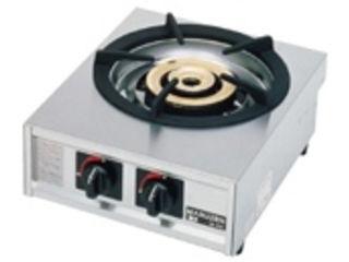 ※こちらは13A(都市ガス)専用になります。 ガステーブルコンロ親子一口コンロ/M-211C 13A(都市ガス)