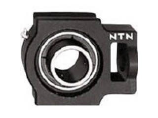 NTN 【代引不可】G ベアリングユニット(円筒穴形、止めねじ式)内輪径110mm全長385mm全高320mm UCT322D1