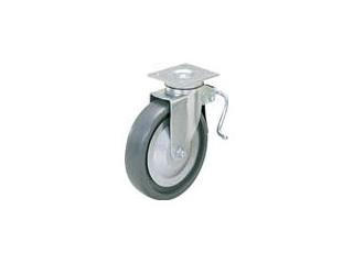 SUGATSUNE/スガツネ工業 LAMP 重量用キャスター径203自在ブレーキ付SE(200-012-453 SUGT-408B-PSE