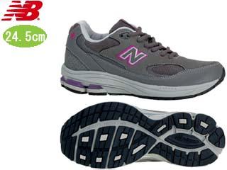 NewBalance/ニューバランス WW1501-EE-GP FITNESS WALKING レディース シューズ [グレー×パープル]【24.5cm】